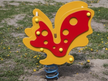 Гойдалка на пружині Метелик