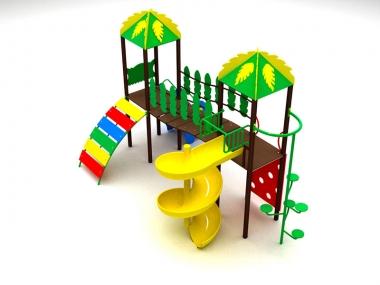 Дитячий ігровий комплекс Тропіки 1