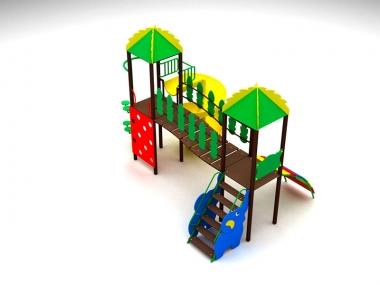 Детский игровой комплекс Тропики 2