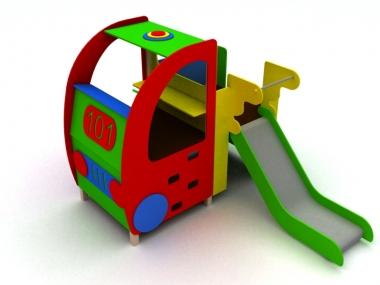 Ігровий комплекс Пожежний автомобіль 1