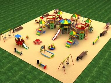 Детская площадка № 8