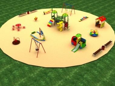 Детская площадка № 5