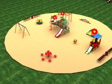 Детская площадка № 4
