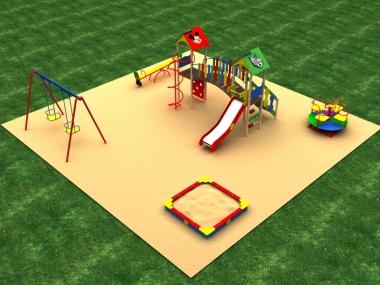 Детская площадка № 2