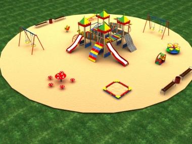 Детская площадка № 1