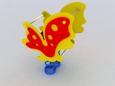 Качели на пружине Бабочка