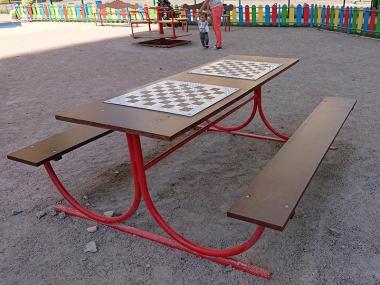 Стіл для гри в шахи