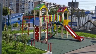 Дитячий ігровий комплекс на дві вежі Плюс